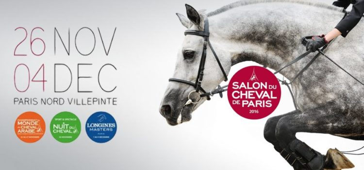 Salon du cheval 2016 à Paris