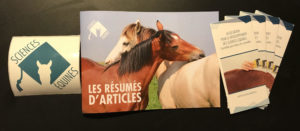Illustration kit de communication Sciences Equines